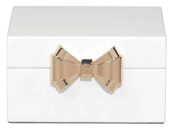 Ted Baker Jewellery Box Small White
