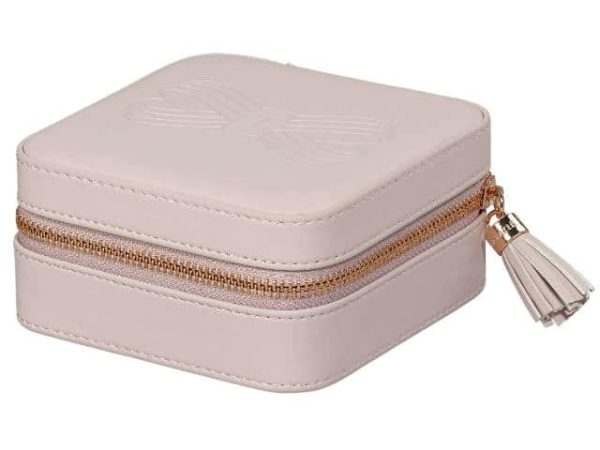 Ted Baker Zipped Jewellery Case Pink