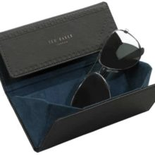 Ted Baker men's sunglasses Case Black Brogue Monkian