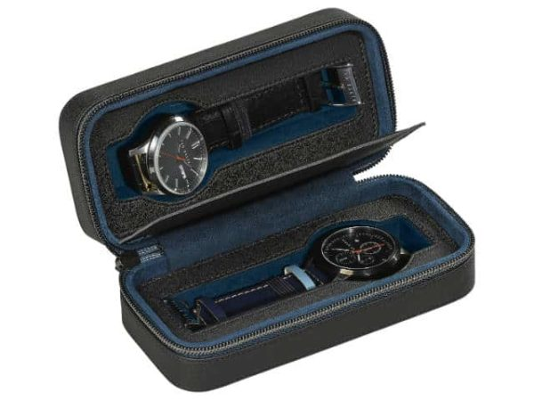 Ted Baker Travel Watch Case Black Brogue Monkian
