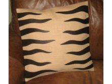 Katigi Designs Jute and Leather Cushion Cover