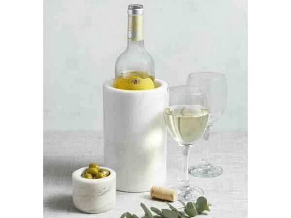 Artesa Marble Wine Cooler Lifestyle