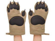 Fred Bear Hands Oven Gloves