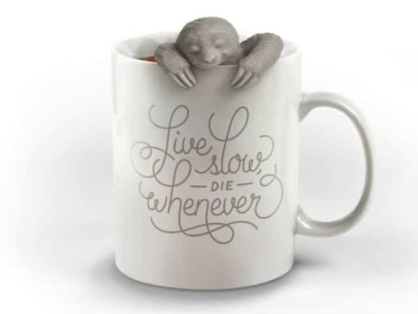 Fred Slow Brew Sloth Tea Infuser Hanging