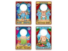 Fred Travelling Sideshow Travel Bibs Selection