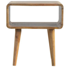 Nordic Open Bedside Table with One Compartment
