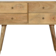 4 Drawer Nordic Design Console Table