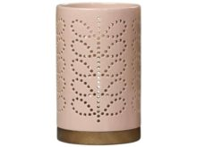 Orla Kiely Orla Kiely Large Ceramic Lantern Linear Stem Rose