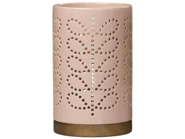 Orla Kiely Orla Kiely Large Ceramic Lantern Linear Stem Rose