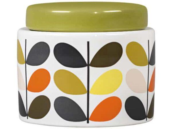 Orla Kiely Small Storage Jar Multi Stem