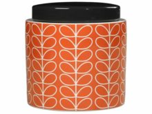 Orla Kiely Persimmon Linear Stem Storage Jar Main