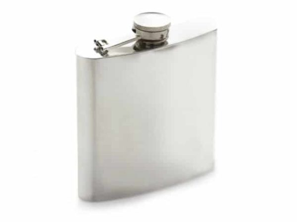 Polished Stainless Steel Hip Flask