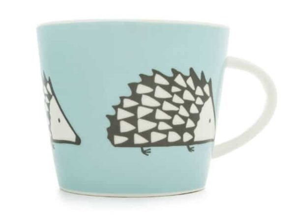 Scion Spike Hedgehog Mug 350Ml - Blue