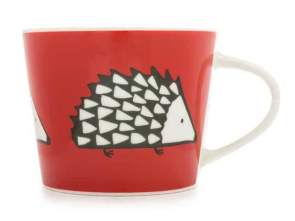 Scion Spike Hedgehog Mini Mug Red