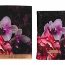 Ted Baker Travel Organiser Black Splendour Main