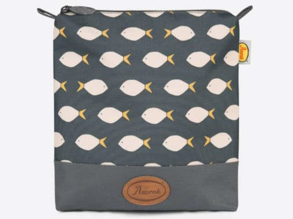 Anorak Fish Wash Pouch