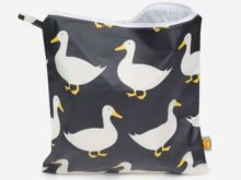 Anorak Waddling Ducks Large Toiletry Bag