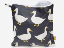 Anorak Waddling Ducks Large Toiletry Bag