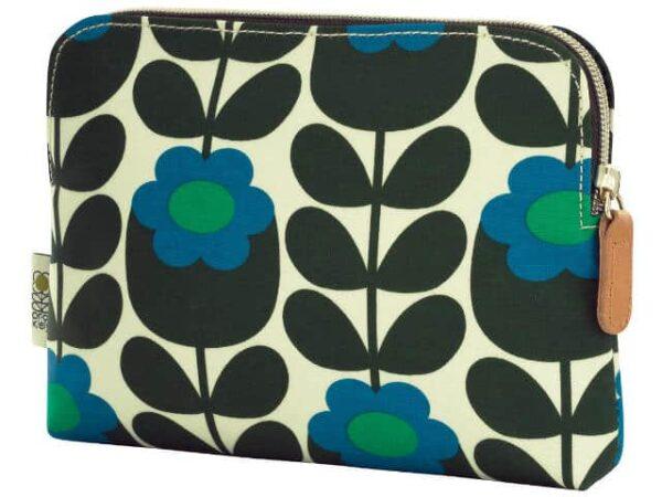 Orla Kiely Primrose Jade Cosmetic Bag