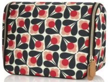 Orla Kiely Hanging Wash Bag Sycamore Seed