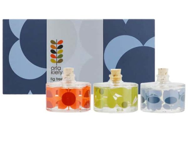 Orla Kiely Midnight Shadow Flower Diffuser Set