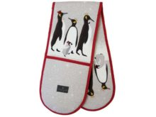 Sara Miller Double Oven Glove Penguin