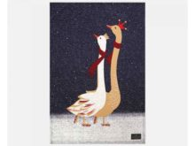 Sara Miller Tea Towel Geese Placement Main