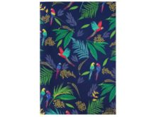 Sara Miller Tea Towel Parrot Repeat Main