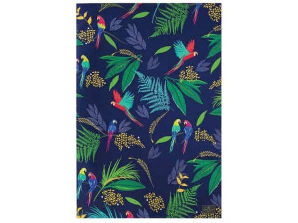 Sara Miller Tea Towel Parrot Repeat Main