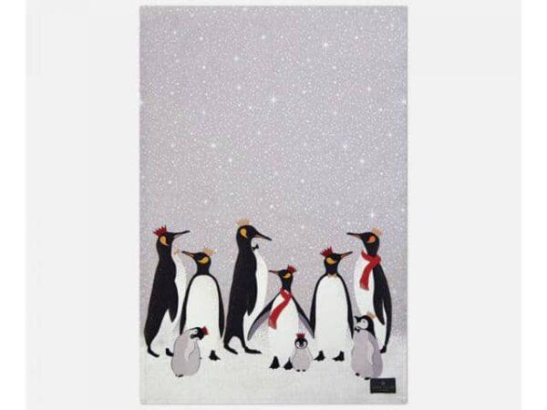 Sara Miller Tea Towel Penguin Repeat Main