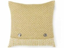 Bronte By Moon Vienna Merino Lambswool Gold Cushion