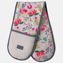 Sara Miller Peony Double Oven Gloves Repeat
