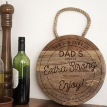 Personalised Dad Cheeseboard