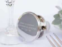 Personalised Silver Wine Stopper