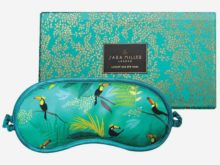 Sara Miller Toucan Silk Eye Mask