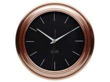 KitchenCraft Round Copper Effect Clock