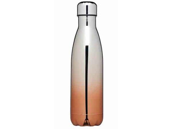 KC LX Metallic Copper Water Bottle Flask 500ml