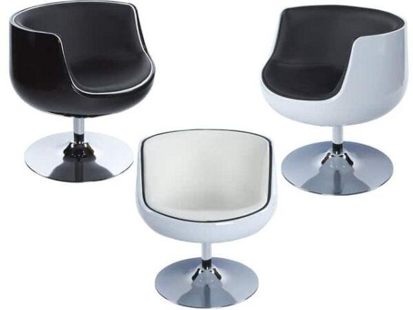 Harlow Modern Design Swivel Armchair