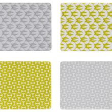Scion Placemats Pajaro and Forma Set of 4