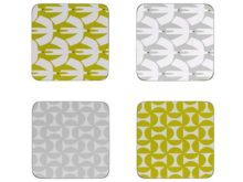 Scion Coasters Pajaro And Forma Set of 4