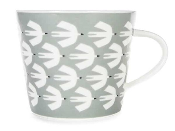 Scion Pajaro Dove Grey Standard Mug 350ml