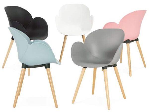 Sitwel Designer Plastic Armchair