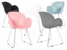 Testa Pastel Plastic Designer Armchair