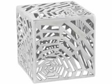 Kokoon Tribal Polished Aluminium Side Table