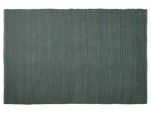 Kokoon Tres Design Green Cotton Rug 160 x 230cm