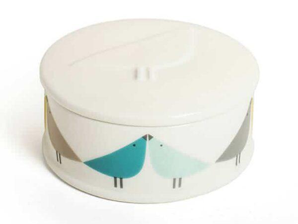 Scion Living Lintu Round Ceramic Trinket Box