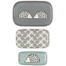Scion Living Spike Hedgehog Trinket Dishes Trio