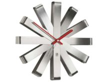 Umbra Steel Ribbon Wall Clock