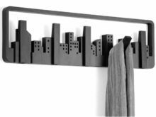 Umbra Multi Hook Skyline Coat Rack Black