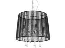 Kokoon Conrad Baroque Ceiling Lamp Black
